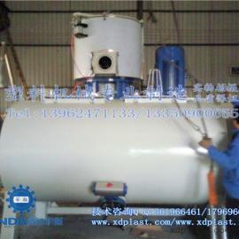 SRL-W300/1000系列卧式高速混合机组|300/1000卧式混料机组厂家|3