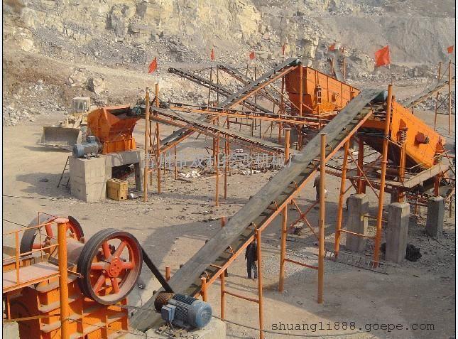 制砂生产线,挖沙船上的破碎设备,制砂机械