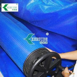 蓝色pe薄膜 气泡膜 游泳池保温膜 保温盖布 订做尺寸