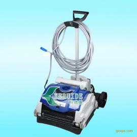 彩鲨全自动吸污机 进口水底吸尘器 游泳池水泵 泳池吸污机