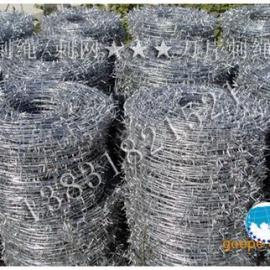 铁丝刺绳/电镀锌刺绳/热镀锌刺绳/钢丝刺绳厂专业为您!
