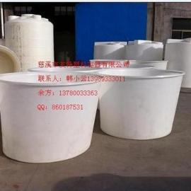 低价供应食品级塑料圆桶 PE材质1200L腌制桶 养殖桶