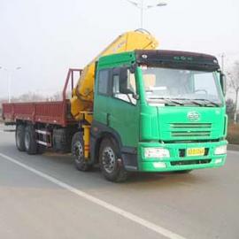 10吨折叠徐工随车吊|解放10吨随车起重运输车
