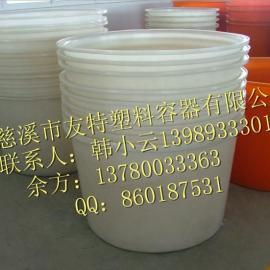 批发供应600滚塑圆桶,染料储存桶,江苏调料桶,
