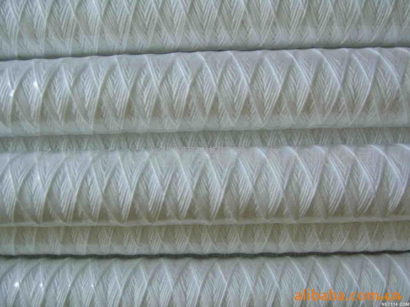 特价清洗机用棉芯 10寸250mm长清洗机线绕滤芯 超声波PP棉芯