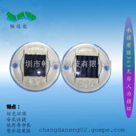 厂家出口太阳能PC圆形LED道钉