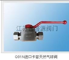 供应内螺纹天然气高压球阀Q11N-江苏鑫盛源阀门