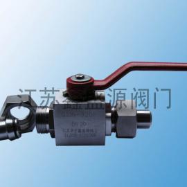 CNG天然气加气站不锈钢高压球阀