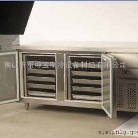 烘焙屋保鲜烤盘柜 雅绅宝BG-L2S双门烤盘工作台