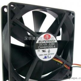 千红9025电脑机箱风扇 测速CHA9212DS-A