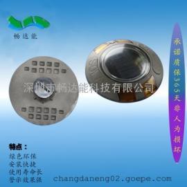太阳能铸铝圆形LED道钉