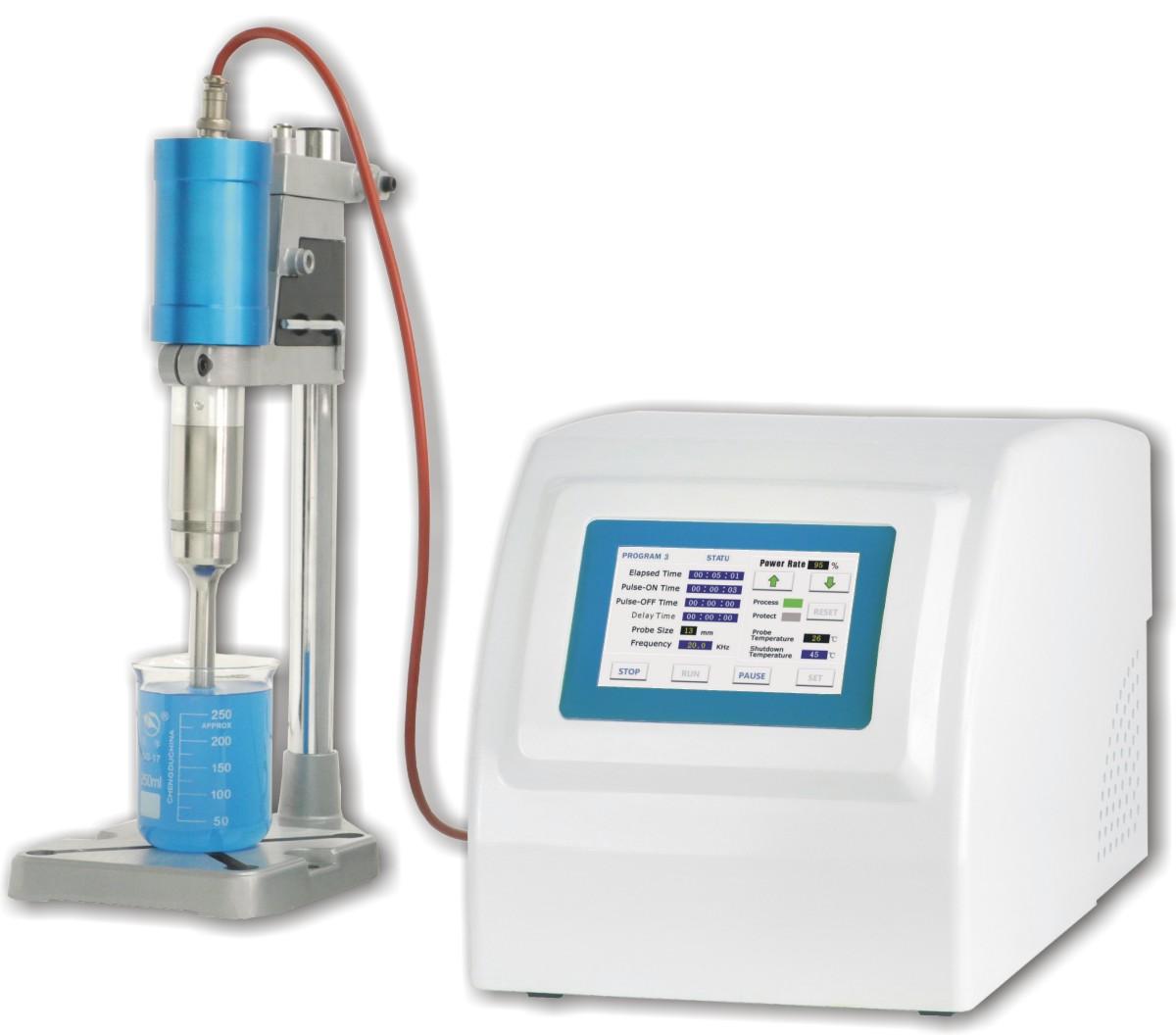 FS-2000T超声波处理器 触摸式,处理量50-3000ML,可定制。