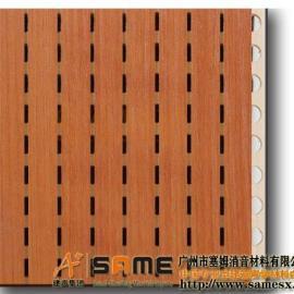 广州槽木吸音板