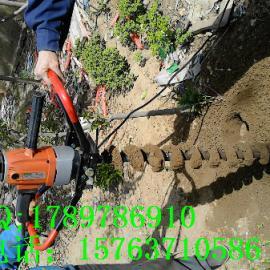 种植机械 单人钻挖坑机 小型植树机z6