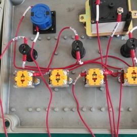 铸铝两灯两钮一表挂式操作柱 BZC51-A2D2B1G