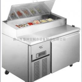 供应尊宝比萨同款冷柜/带盖比萨柜/比萨工作台厂家