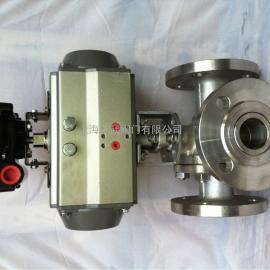 三通球阀 气动三通球阀 T型和L型供应