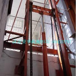 沈阳导轨式升降货梯 链条式升降机 载货升降平台
