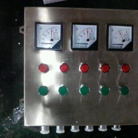 BZC8061 2灯,2按钮,,1电位器2K 不锈钢