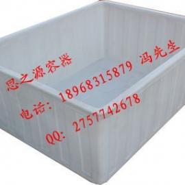 PE塑料方箱厂家供应清洗箱、纺织桶、印染桶、腌制桶