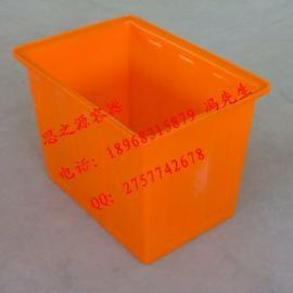 超市物流箱 大型塑料箱 防静电周转箱 加厚方形塑料水箱