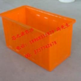 塑料水箱超大号养鱼箱加厚水产箱储水箱周转箱批发