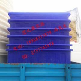 食品级PE周转箱 塑料方箱 塑料养殖腌制箱塑料容器