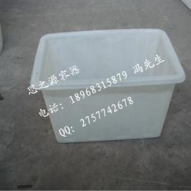 厂家小额批发塑料周转箱 PE食品级周转箱 可套叠周转箱