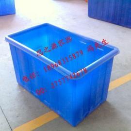 供应零件箱塑料周转箱/塑料箱/PE方箱/塑料萝筐
