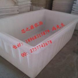 制衣厂专用塑料箱、1500L塑料方箱、制衣厂周转箱