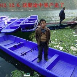 上海3.3米塑料渔船/打渔船/钓鱼观光船/手滑船