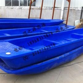 3.25米塑料渔船捕鱼水产运输双层旅游钓鱼观光船