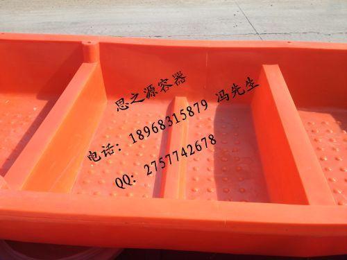 厂家直供抗老化3.25米双层塑料养殖小船