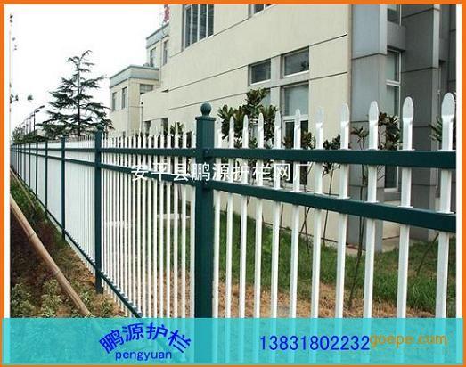 热镀锌钢管围墙栏杆,铁艺栏杆,铁艺围墙护栏