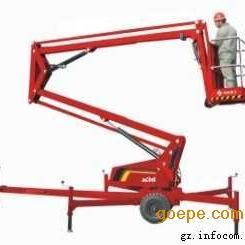 安徽曲臂式高空作业车-折臂式高空升降车-移动升降车