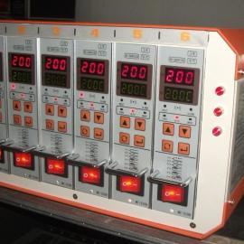 热流道温控箱。插卡式热流道温控器