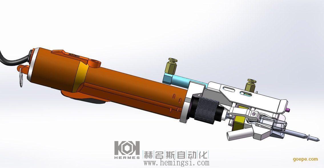 赫名斯供应 手持式自动打螺丝机东莞自动打螺丝机 主机尺寸 410(L)X230(W)X330(H)mm 送料距离 4M 批头尺寸 依螺丝而定 送料方式 自动 批头重量 180g 补料方式 自动 主机输入电压 AC 220V 50Hz 工作计数 可选 功率 80W 送料速度 0.3-0.5s/PCS 适应螺丝种类 任意 锁付速度 40-70PCS/min 适用起子 适配 容量 3000PCS 螺丝规格 M1-M4 扭力 依电批而定 适用深度 0-40mm 扭力精度 3% 工作气压 5kg/cm2 扭力调整