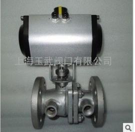 气动保温球阀 BQ641F气动保温球阀 铸钢 不锈钢