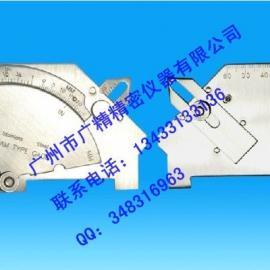 东莞焊接检验尺MG-8/凸轮式焊缝规/焊角检测尺