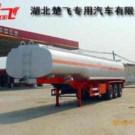 东风天龙40吨半挂运油车