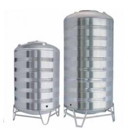 圆柱形不锈钢水箱