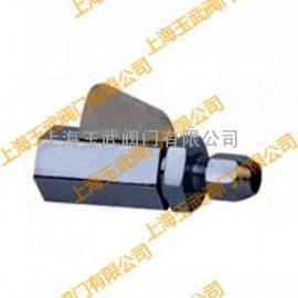 不锈钢针型阀  QY-3气动管路球阀