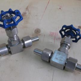 不锈钢针型阀   J23W外螺纹针型阀