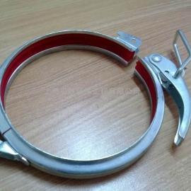通风管道卡箍、螺旋风管卡箍抱箍、上海抱箍管箍