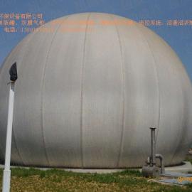 2000立方双膜气柜 沼气气柜 气柜 青岛超威特环保