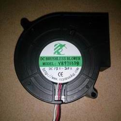 供应汽车空调无刷外转子9733型大功率可调速直流鼓风机