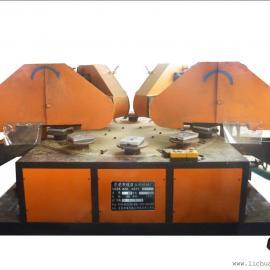 圆盘四组砂带平面自动磨砂机