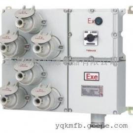 BXX52防爆插座配电箱(防爆检修电源箱)