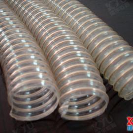 XY-0307吸尘管,透明塑料软管,5寸钢丝增强软管