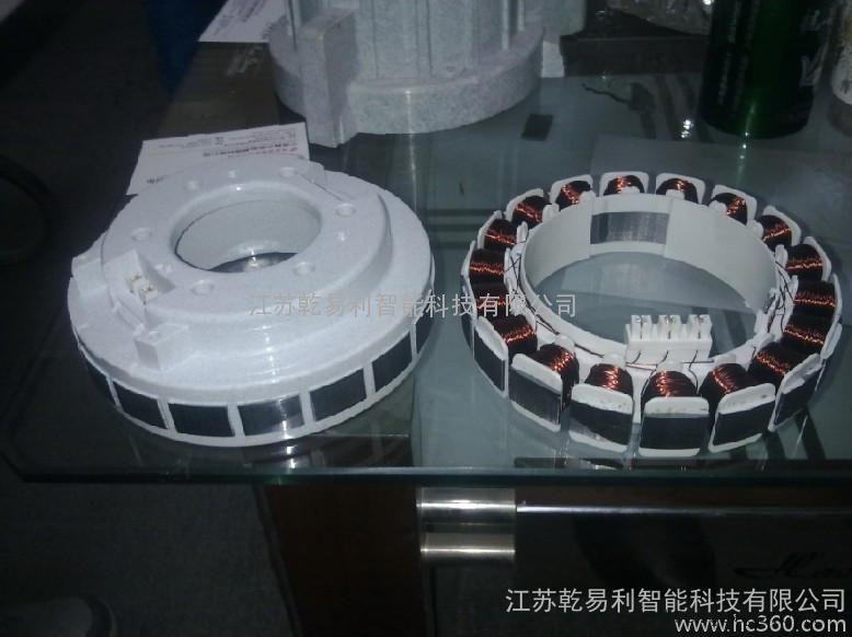 伺服电机定子专用BMC角式圆盘注塑机